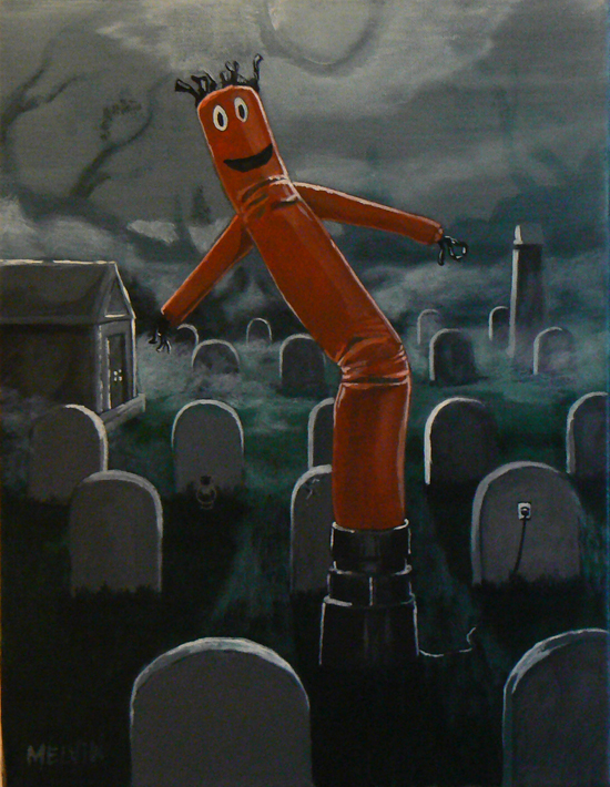 """Odd places to put a wacky, waving arm inflatable tube guy 1"""