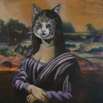 """Mona Cat Head"""
