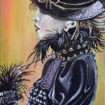 """Steampunk Girl #1"""