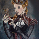 """Steampunk Girl 12"""