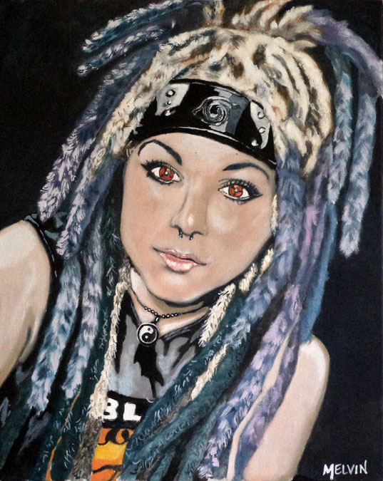"""Portrait of Larry Futrell's Daughter #2"""